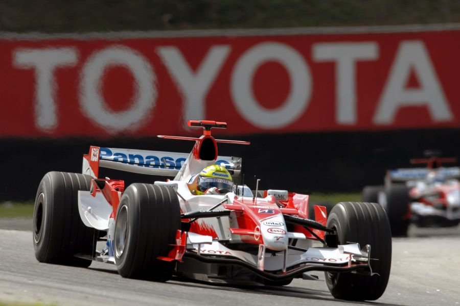 Panasonic Toyota Racing scored 13 F1 podiums in eight seasons