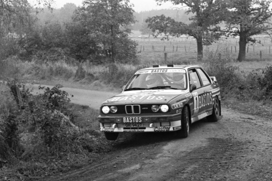 Patrick Snijers in his championship winning BMW M3