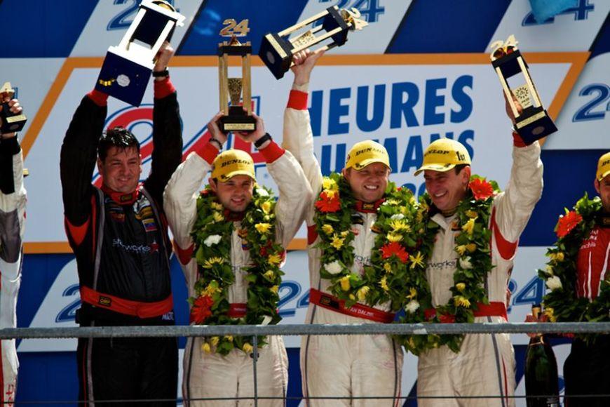 2012 LMP2 class Le Mans winners
