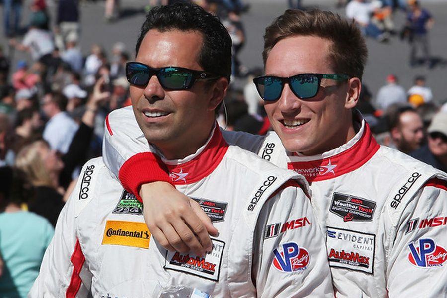 Alex Popow and Renger van der Zande