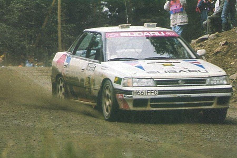 Markku Alen, 1990, Subaru Legacy RS