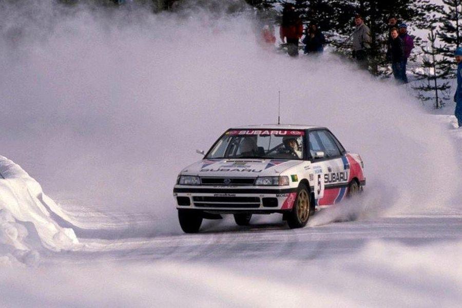Markku Alen at 1991 Swedish Rally