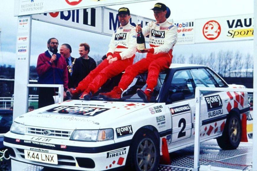 1993, Richard Burns, British rally championship