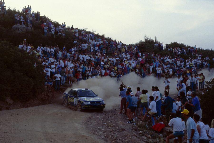 Colin McRae at 1993 Acropolis Rally