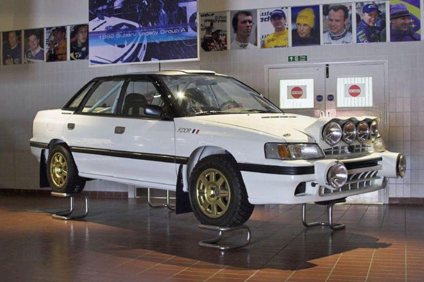 Subaru Legacy RS, museum, expo