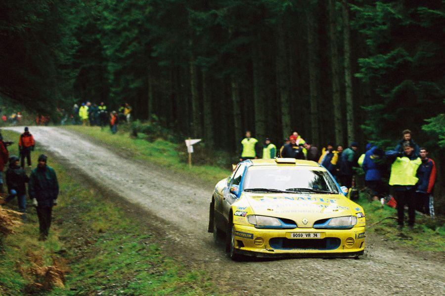 Tapio Laukkanen's Renault Megane Maxi in 1999