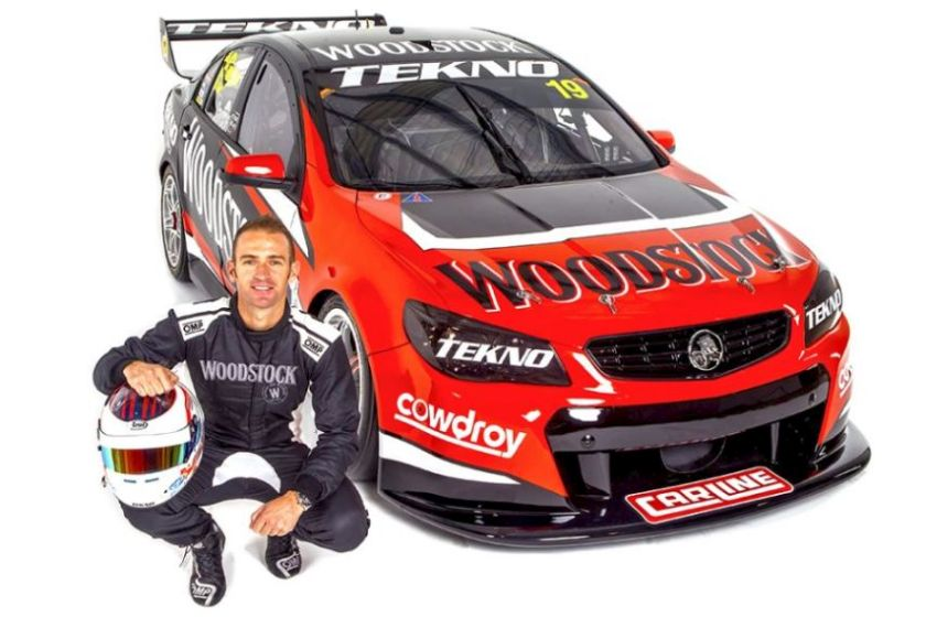 New livery for the 2017 V8 Supercars season