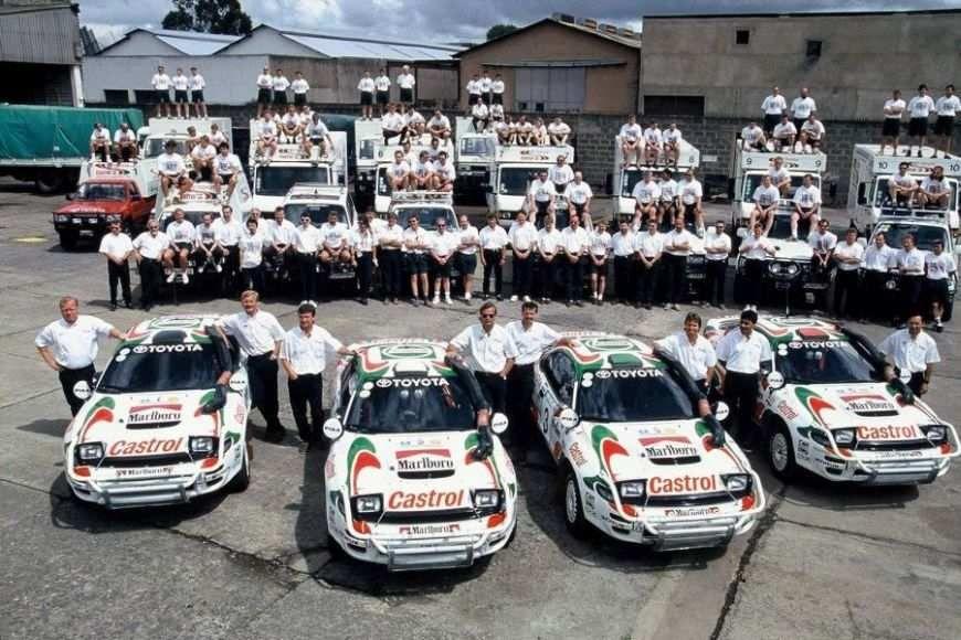 Toyota Castrol Team