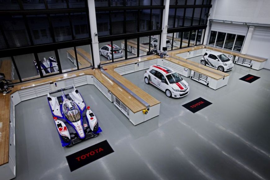 TMG, All under one roof, from LMP1 prototypes to affordable rally cars