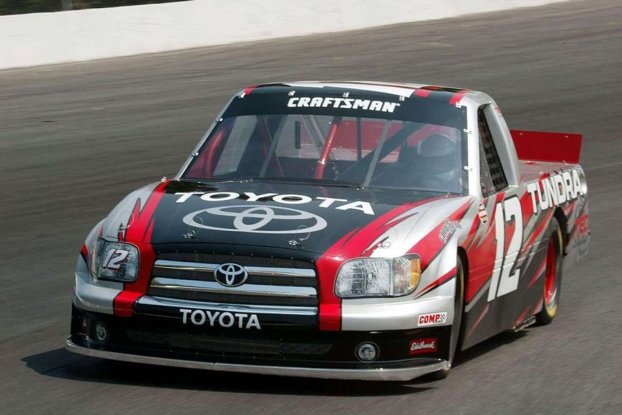 Toyota Tundra prepared for the 2004 NASCAR Craftsman Truck Series