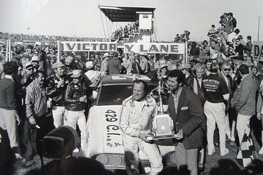 AJ Foyt scored five wins for Wood Brothers Racing, including at 1972 Daytona 500