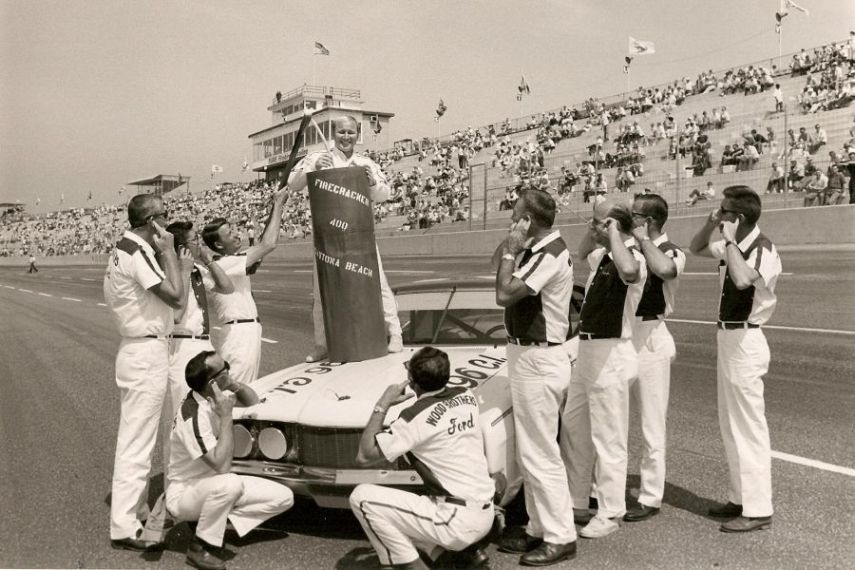 Cale Yarborough won 13 races for Wood Brothers Racing