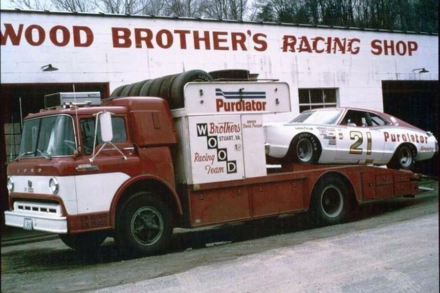 Wood Brothers Racing,established in 1950