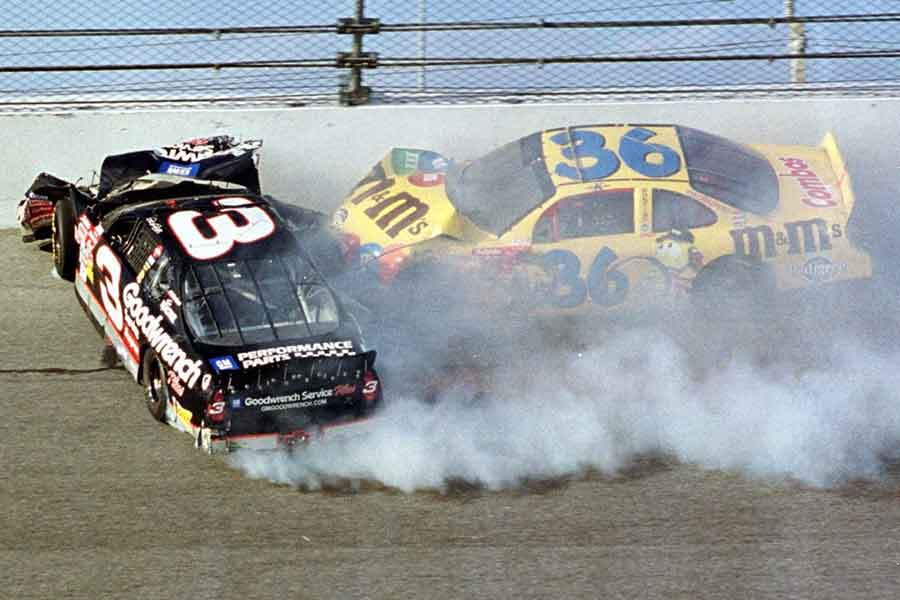 Daytona 500 Dale Earnhardt crash tickets track energy home 400 ticket international speedway view new