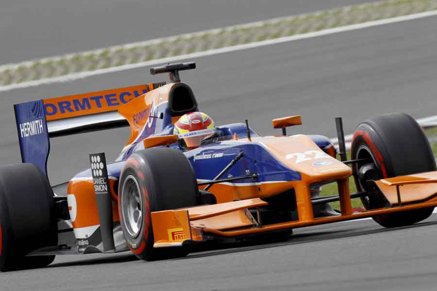 Hilmer Motorsport Robin Frijns 2013 GP2 news twitter monza facebook formula german view like bahrain