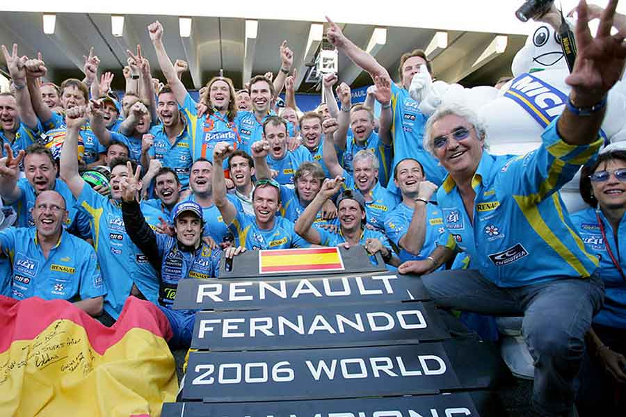 Renault formula team 2006 april day sport new 2017 monaco