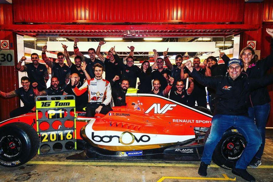 AV Formula's Tom Dillmann was the 2016 Formula V8 3.5 Series champion