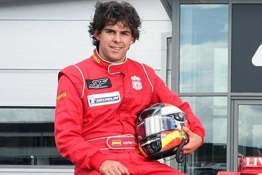 Adrian Valles was the Superleague Formula champion in 2009