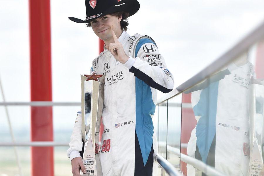 Colton Herta IndyCar COTA