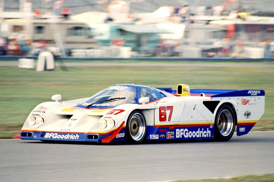 Busby Racing's Nissan GTP ZX-T in 1990