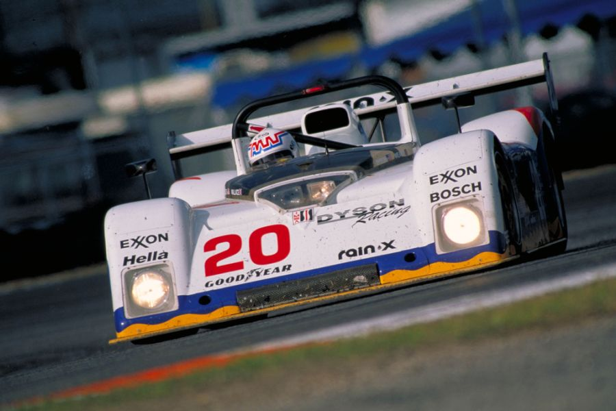 The #20 was a victorious car at 1997 Daytona 24 hours