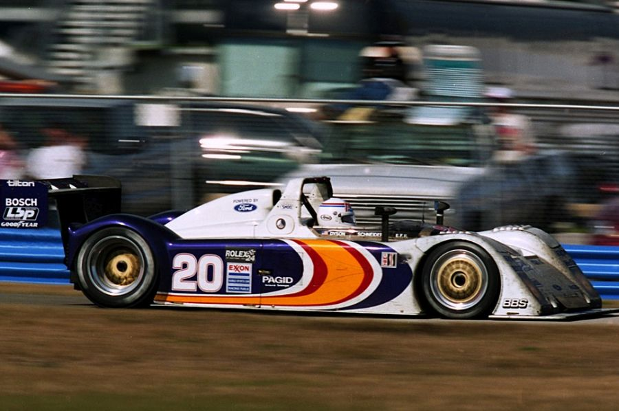 IN 1999, Elliott Forbes-Robinson was a double champion with Riley & Scott Mk III
