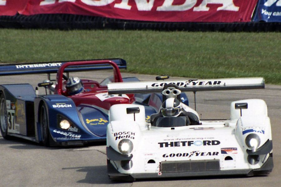 James Weaver was a champion in 2001 with Riley &ampScott Mk III