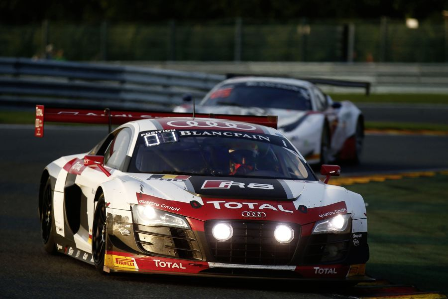 WRT's victorious car at 2014 Spa 24 Hours