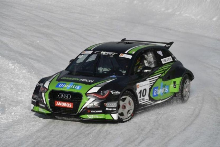Benoit Treluyer's Audi A1 quattro at Trophee Andros race