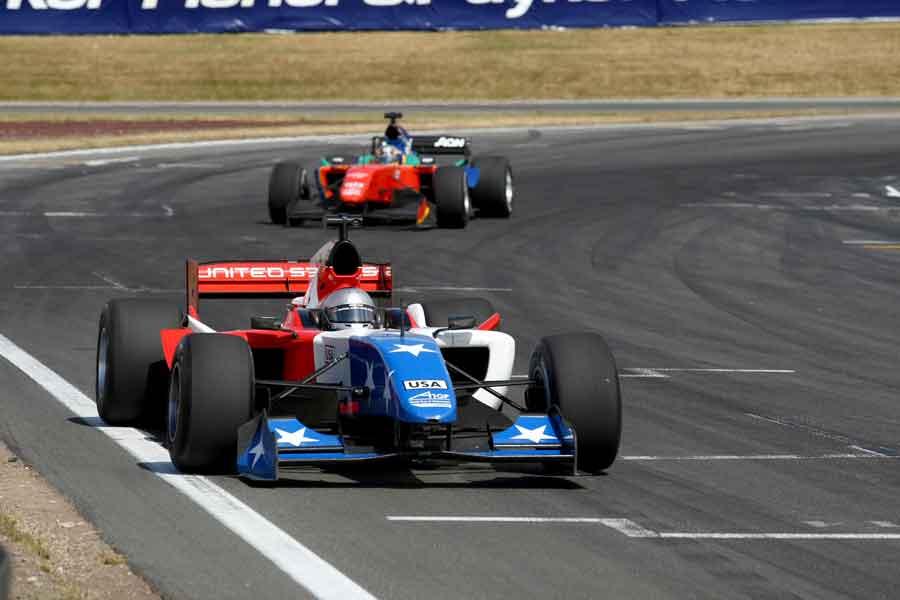 Marco Andretti A1GP honda facebook april