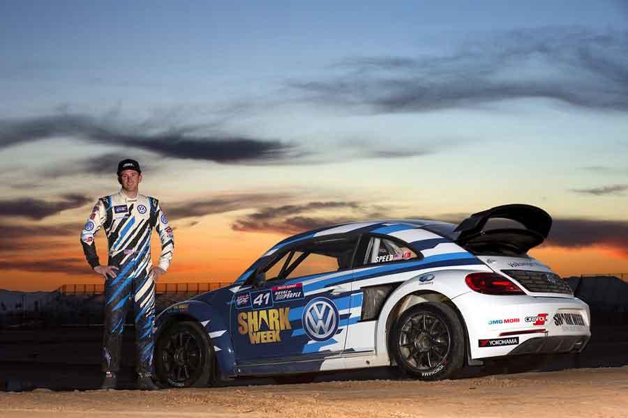 Scott Speed Volkswagen Rallycross