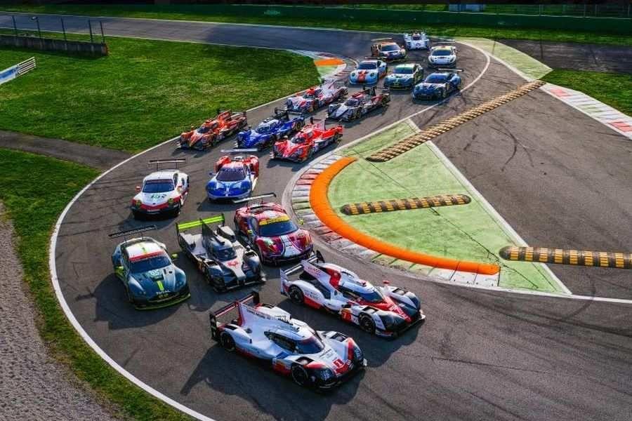 2017 FIA WEC cars