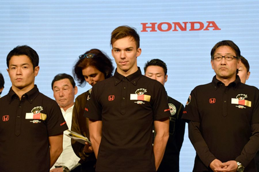 The 2016 GP2 Series champion Pierre Gasly is one of five Super Formula rookies