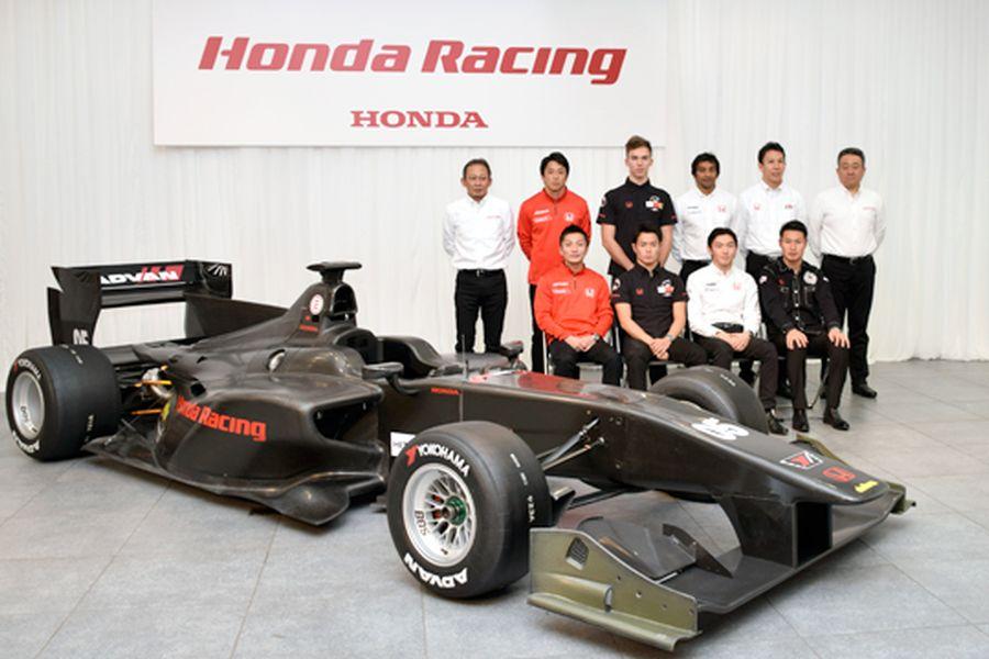 2017 Super Formula Honda drivers