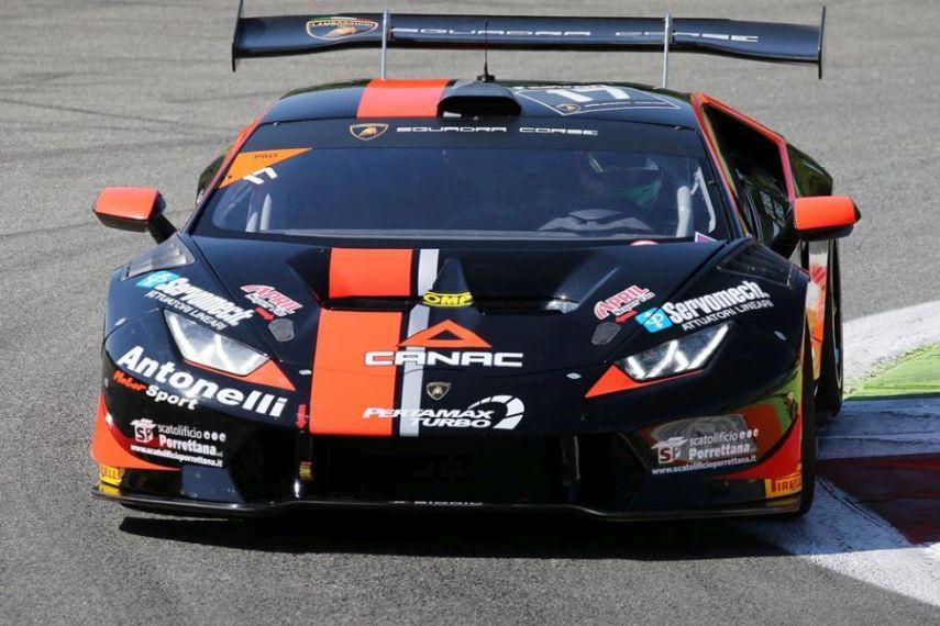 Antonelli Motorsport #17 Lamborghini, Monza
