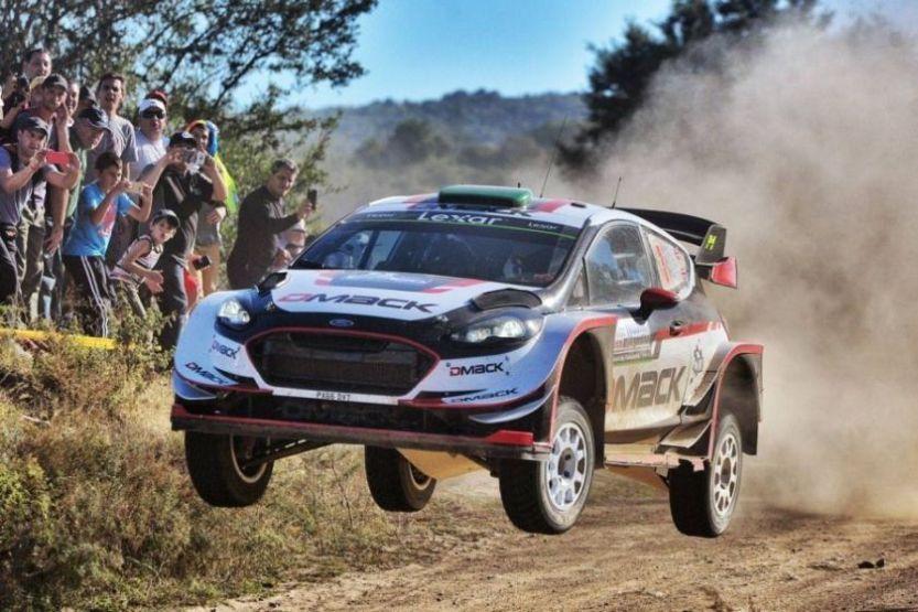 Elfyn Evans, 2017 Rally Argentina