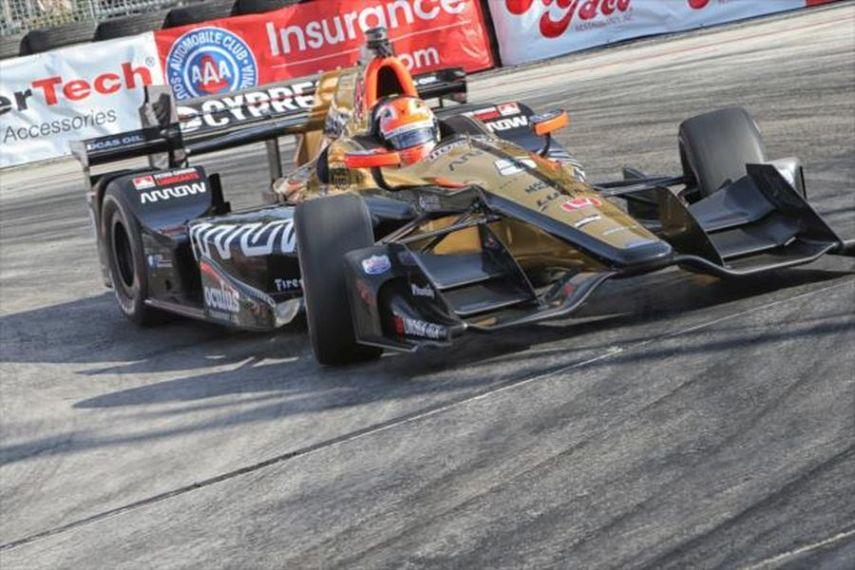 James Hinchcliffe, Toyota Grand Prix of Long Beach