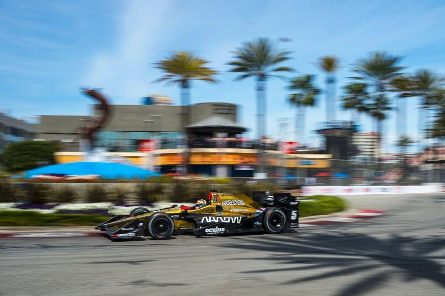 James Hinchcliffe wins Grand Prix of Long Beach