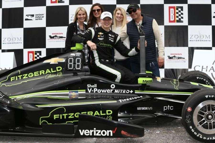 Josef Newgarden wins at Barber Motorsports Park