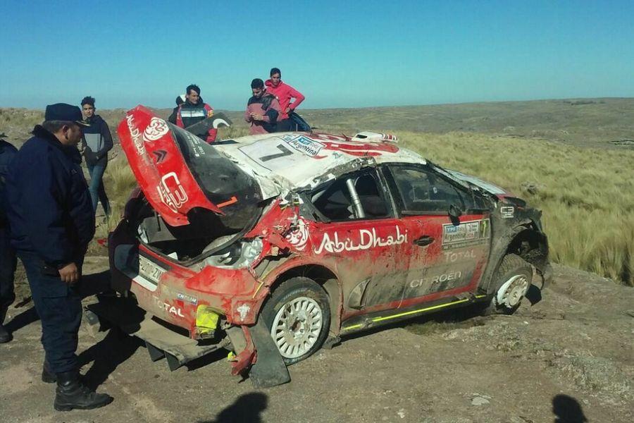 Kris Meeke, 2017 Rally Argentina