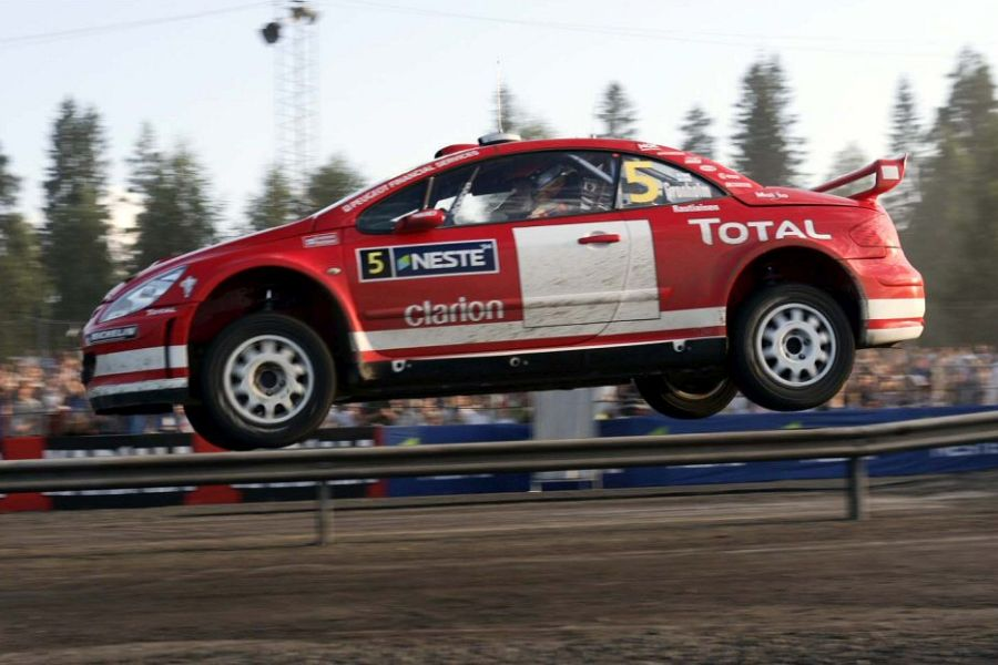 Peugeot 307 WRC, 2004 Rally Finland, Marcus Gronholm