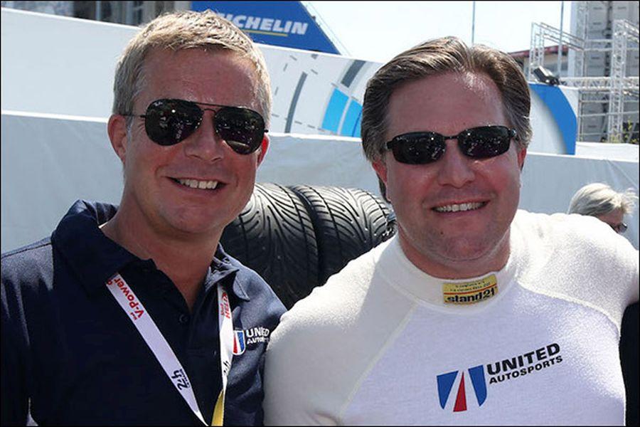 Richard Dean and Zak Brown