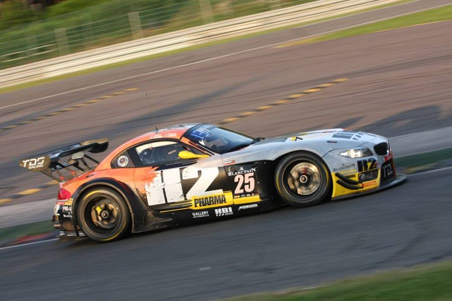 TDS Racing's #25 BMW participated in the Blancpain Endurance Series
