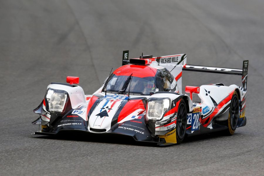 TDS Racing's Oreca 07 at FIA WEC official test at Monza