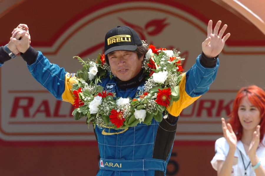 Toshi Arai - Production class World rally champion in 2005