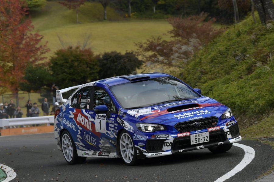 Toshihiro Arai, 2018 Japanese Rally Championship, Subaru Impreza