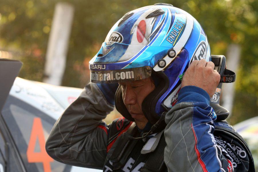 Japanese rally legend Toshi Arai