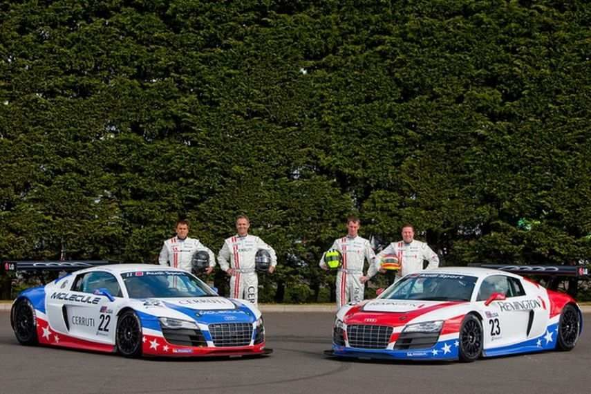 United Autosports debuted in 2010 with two Audis
