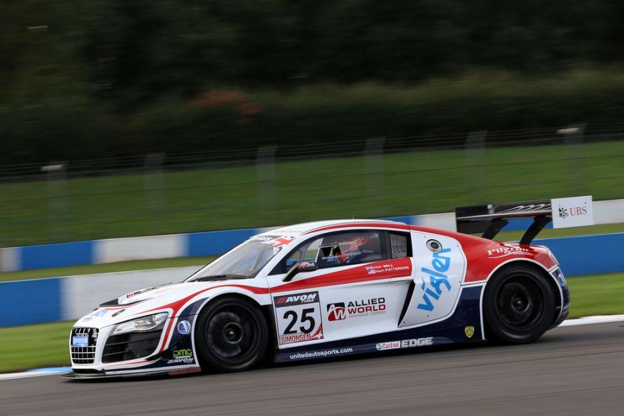 United Autosports' #25 Audi in the 2013 British GT Championship season
