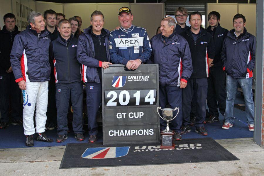 Jim Geddie won the 2014 GT Cup title